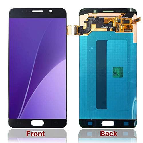 - HJSDtech LCD Touch Glass Screen Display Digitizer Assembly Replacement for Samsung Galaxy Note 5 N920 N920f N920t N920a (Black)
