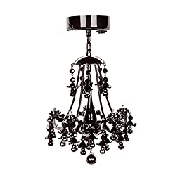 Locker Lookz Locker Chandelier - Black - 1 piece