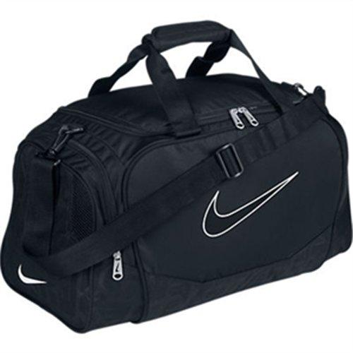333834edbec2 Nike Brasilia 5 Medium Duffel Gym Bag Flint Grey Black - Buy Online in UAE.