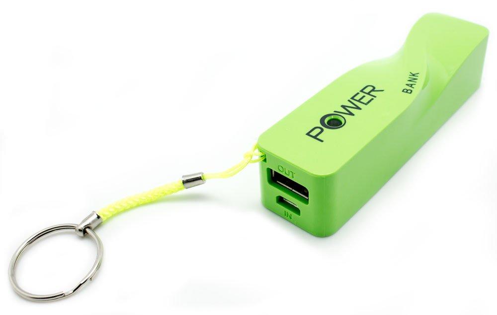 Power Bank Llavero 2600mAh A5 Verde: Amazon.es: Electrónica