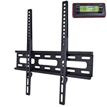 "26"" - 50"" (66 lb) LCD/LED/Plasma Double-Arm Fixed TV Wall Mount Bracket (Black) New"