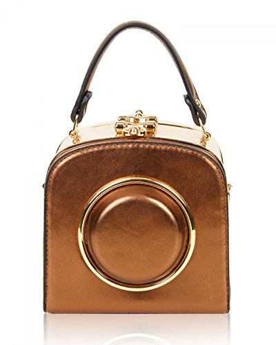 1705 Quality Women's Party Bags For Body Clutch Bags Small Cross Grab LeahWard Coppertone Evening Bag OfUnqFRRI