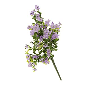 B Blesiya Artificial Flowers Gypsophila Baby Breath Fake Silk Flowers Bouquets for Wedding Party Home Decoration, 7 Colors Available 37