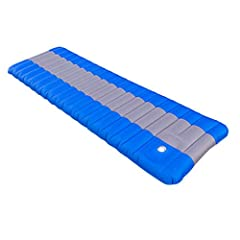 Could Sleeping on ground be so comfortable? This camping pad will provide you with maximum comfort during your outdoor activities! No matter how hard the ground you're going to lie on, the sleeping pad will make you feel in your bed! Material...