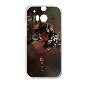 Defense Of The Ancients Dota 2 CLOCKWERK HTC One M8 Cell Phone Case White ASD3796806