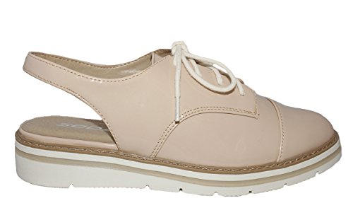 MVE Shoes White Bottom Womens Oxford Shoes Natural 10 by MVE Shoes