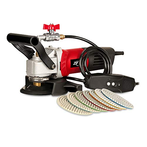 ZFE 800W/110V Variable Speed 4'' Wet Polisher/Grinder