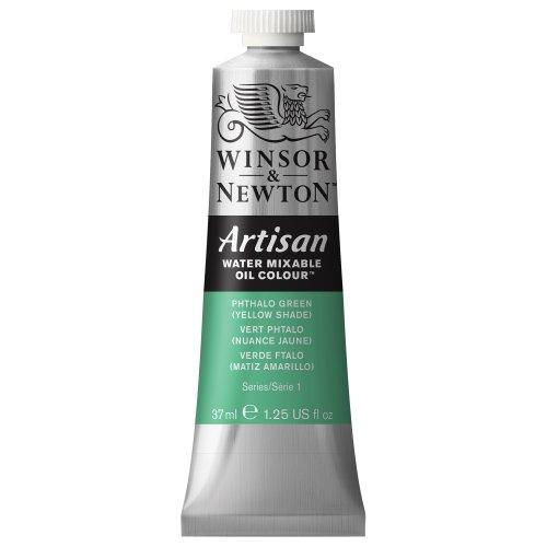 Winsor & Newton 1514521 Artisan H20 Oils 37ML.PHTH GRN YEL SHAD, 37-ml Tube, Phthalo Green (Yellow Shade)