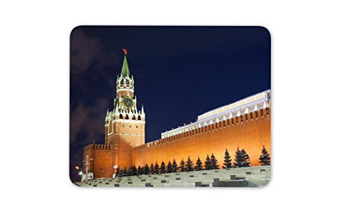 (Spasskaya Tower of Kremlin Mouse Mat Pad - Red Square Moscow Fun Computer #13042 )