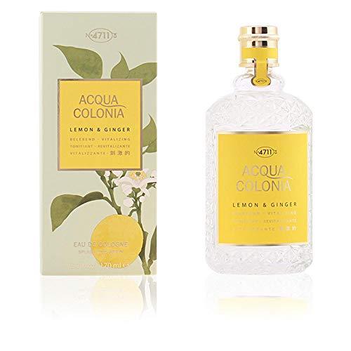 - 4711 Acqua Colonia Lemon and Ginger Eau de Cologne Spray, 5.7 Ounce