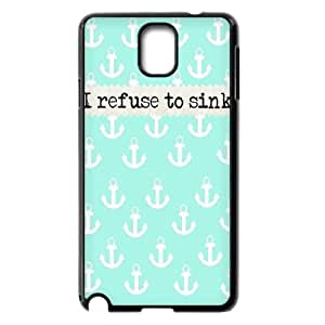 Clzpg Customized Samsung Galaxy Note3 N9000 Case - I Refuse to Sink shell phone case