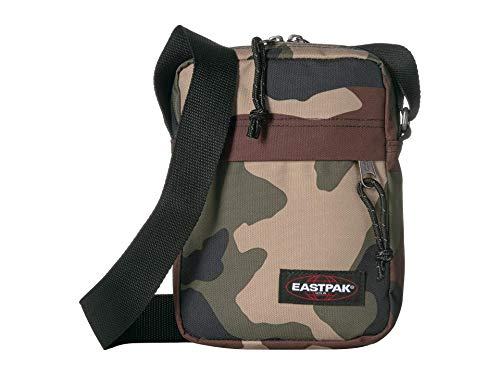 Eastpak Men's The One Crossbody Bag, Camo, Print, Brown, One Size