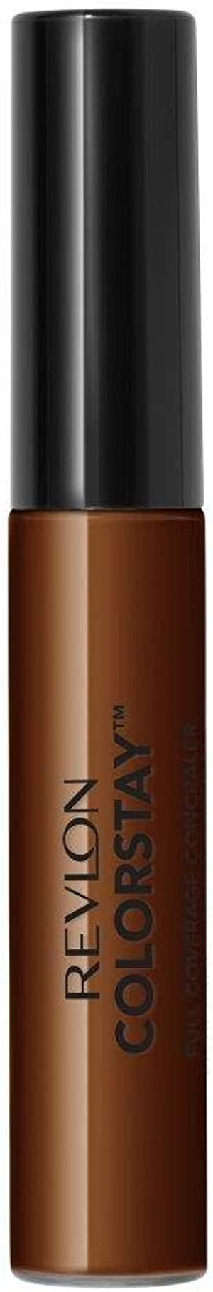 Revlon ColorStay Concealer, Longwearing Full Coverage Color Correcting Makeup, 080 Espresso, 0.21 oz