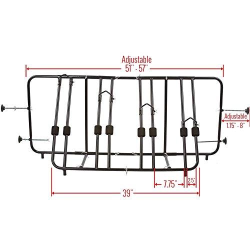 Apex Rage Powersports TBBC-4 4-Bike Pickup Truck Bed Bicycle Rack by Apex (Image #5)'