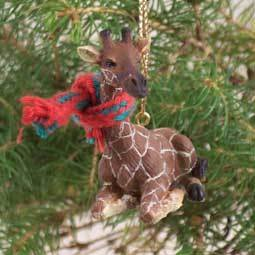 Conversation Concepts Giraffe Original Ornament Christmas Giraffe Ornament