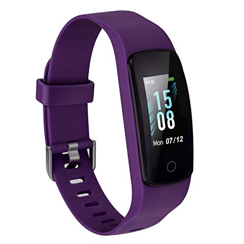 Etekcity Fitness Tracker, Activity Tracker with Step Counter,Heart Rate Monitor and Sleep Tracking for Men Kids, Blue…