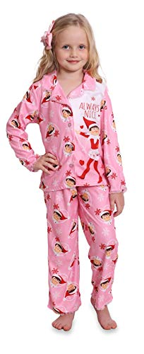 Elf on The Shelf Girls' Little 2-Piece Pajama