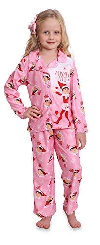 Elf on The Shelf Girls' Pajamas