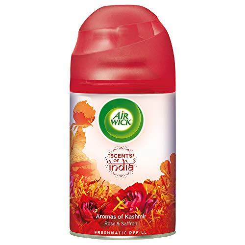 Airwick 'Scents of India' Freshmatic Air Freshner Refill, Aromas of Kashmir – 250 ml