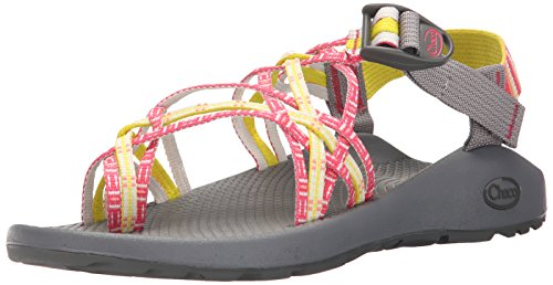 Chaco Women's Zx3 Classic Sport Sandal, Basket Rouge, 8 M US ZX3 CLASSIC-W