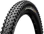 Continental Mountain Bike Protection Tire - Black Chili, Tubeless, Folding Handmade MTB Performance Tire (26&q