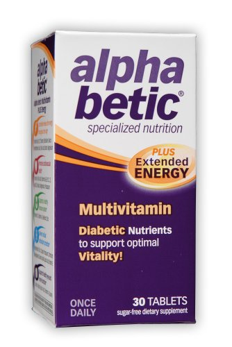 Abkit Vitamins - alpha betic Once-Daily Multi-Vitamin Supplement, 30 Tablets  (Pack of 2)