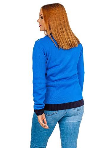 Santa Royal Para Love Fashions My Túnica Mujer Blue Jerséi xHWPvqwg