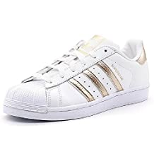 ADIDAS WOMENS SUPERSTAR W,White,US 6.5