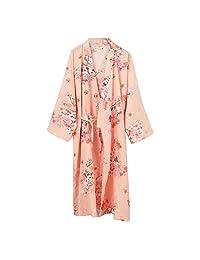 FANCY PUMPKIN Japanese Women's Robe Pajamas Nightgown[Size L]