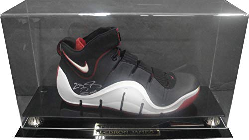 LeBron James Hand Signed Autographed Basketball Nike Shoe WIth Case UDA 20/23 ()