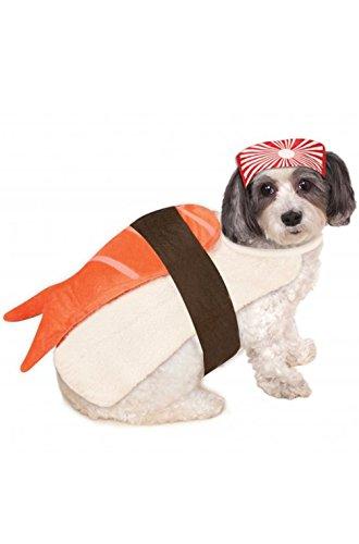 [Mememall Fashion Sushi Pet Dog Costume] (Han Solo Costume Girl)