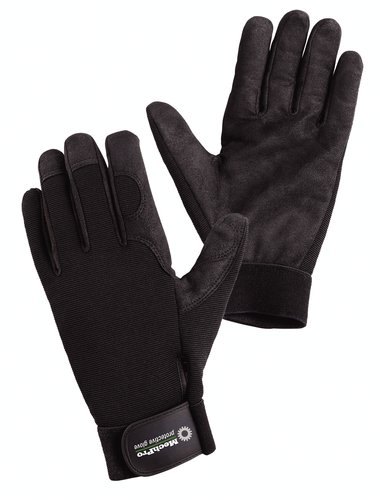 7701M - MechPro Standard, with Synthetic Leather Palm - MechPro Utility Gloves, Wells Lamont - Pack of 12