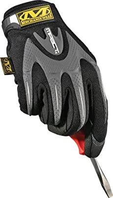 Mechanix Wear M-Pact Gloves Guard Working Hands - Large