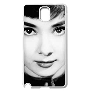 D-PAFD Customized Print Audrey Hepburn Hard Skin Case Compatible For Samsung Galaxy Note 3 N9000