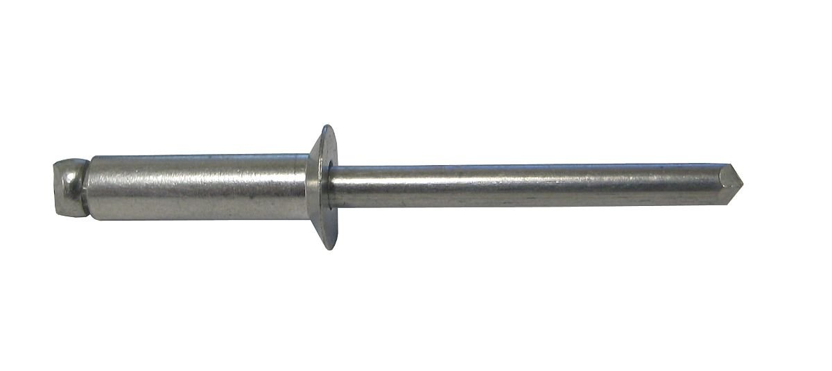 3/32'' DIA. ALL ALUMINUM BLIND RIVET WITH COUNTERSUNK HEAD, .031-.125 GRIP RANGE (PACK OF 250 PIECES)