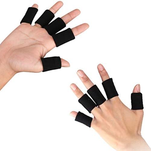 BESPORTBLE 20 Stück Fingerschutzhülle Sport Fingerhülsen Fingerorthese für Basketball Volleyball Baseball Badminton...