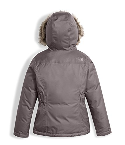 The North Face Girls Greenland Down Parka Rabbit Grey (Medium) by The North Face (Image #1)