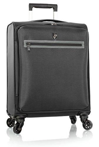 heys-america-hi-tech-xero-the-worlds-lightest-21-inch-spinner-carry-on-luggage-black