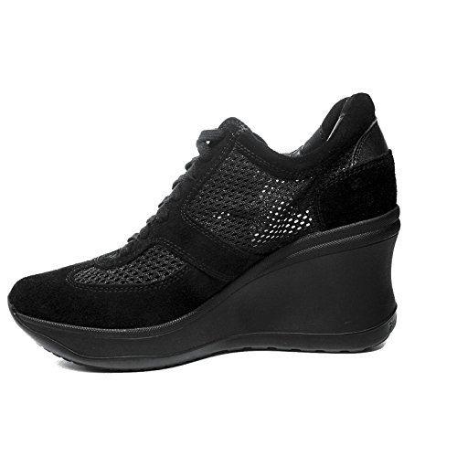 Black Wedge Chambers 2018 Summer A Agile Woman Collection Pierced 1800 Rucoline Soft nbsp;Sneaker New Spring Article by high White with cqApF