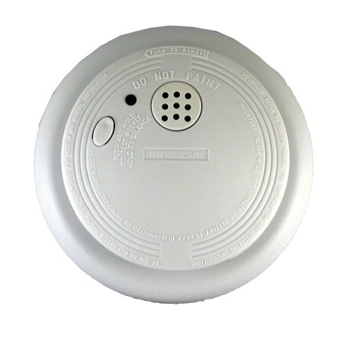 Universal Security Instruments 9-Volt Battery Operated Photoelectric Smoke and Fire Alarm, Model SS-901-LR (Smoke Bottom Detector)
