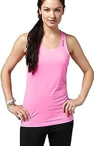 Reebok Women's Workout Ready Long Bra Top (Large, Electric Pink)