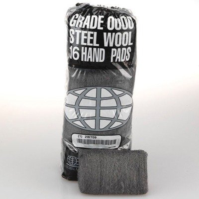 GMT117005 - Global Material 117005 Industrial Quality Steel Wool Pads #2 Medium Coarse by Global Material Technologies