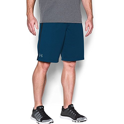 Under Armour Men's Tech Mesh Shorts, Blackout Navy/Steel, Medium