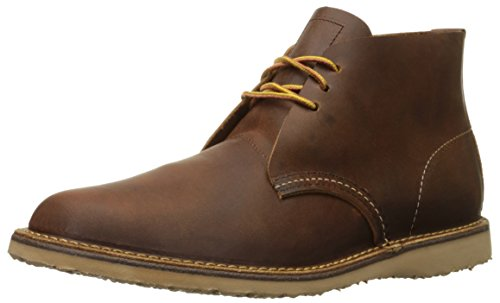 Red Wing Heritage Men's Weekender Chukka, Copper Rough/Tough, 9 D US