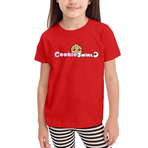 Co_Okie S-wirl C Red Graphic Cotton Kids