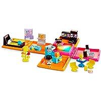 Mattel My Mini Mixie Q's Neon Arcade Deluxe Playset with 2 Mini Figures