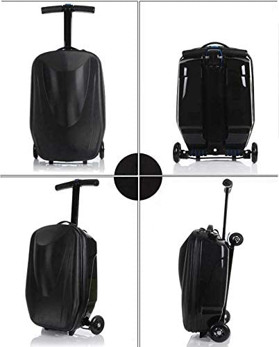 School and Business Black Friday Syber Monday Deal Week 20 inch Scooter Suitcase Ride-on Travel Trolley Luggage for Travel
