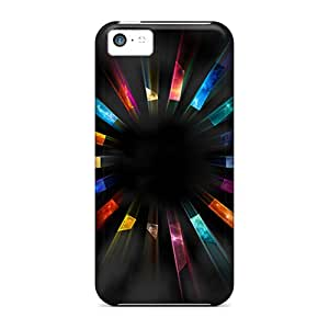 Iphone High Quality Tpu Case/ Colors Of Joy IBSYjUs3646OEFPm Case Cover For Iphone 5c