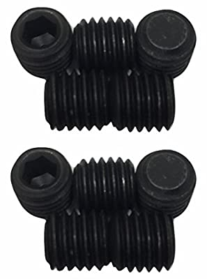 Ryobi 6617001 Set Screw for Holding Shoe Screw (M10 x 10 mm, Hex Soc. Hd.) Uses 5 mm Allen Key (2-Pack) from Corporation of Ryobi