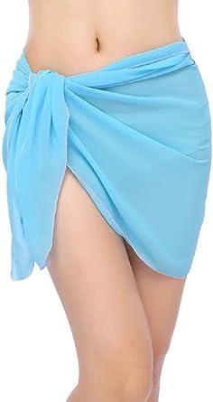 KIRALOVE Pareo yegua Mujer Corta - 50 cm - Falda ...